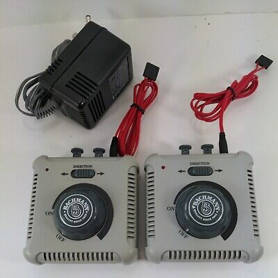 £24.84 • Buy Bachmann 46605A Controller Transformer Lot Of 2 With 1 Power Adapter  Working