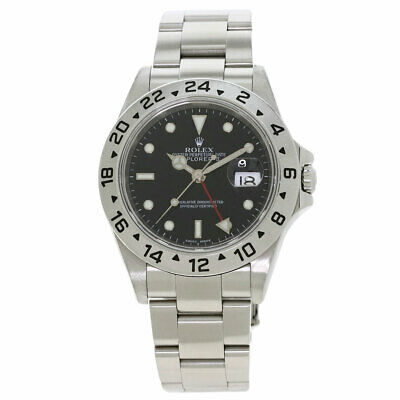 $ CDN11290.79 • Buy Free Shipping Pre-owned Rolex 16570T Explorer 2 Black Dial Self-Winding