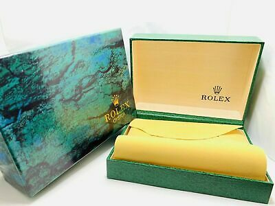 $ CDN34.72 • Buy Luxury Green Rolex Watch Box New With Carton Sleeve, Outer And Inner