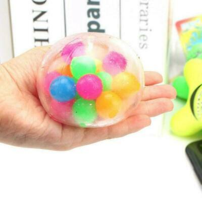 AU8.99 • Buy Pressure Ball Fidget Toys Stress Reliever Squishy Antistress For Hand Kids Figet