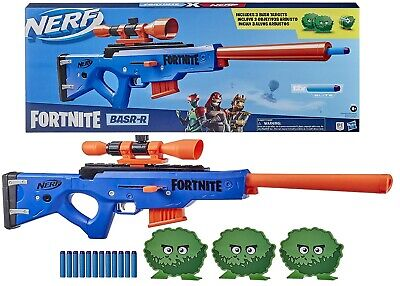 AU141.55 • Buy NERF Fortnite BASR R Bolt Action Blaster Ages 8+ Toy Gun Fire Play Fight Game