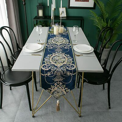 AU31.88 • Buy Table Runner European Jacquard Decoration Dining Table Cloth Household Textiles