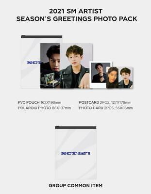 $ CDN19.42 • Buy Nct127 Smtown Official Goods 2021 Season's Greetings Photo Pack + 2 Photocard