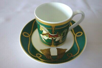 £15 • Buy Heinrich Villeroy Boch Carrousel Nostalgie Mustang China Coffee Cup & Saucer