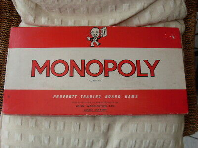 £29.99 • Buy John Waddington Monopoly Board Game Vintage Classic Edition 1961 Used & Complete