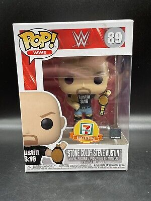 AU43.12 • Buy Funko Pop! Stone Cold Steve Austin #89 WWE 7-11 7 Eleven Exclusive Vinyl Figure