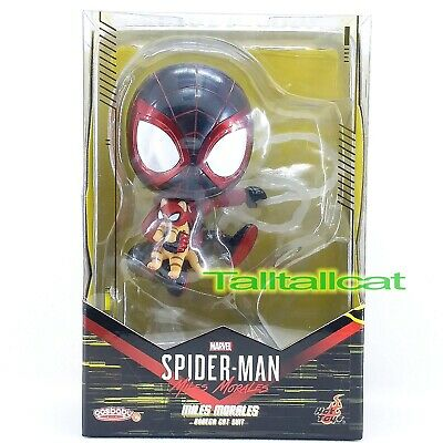 $ CDN29.10 • Buy Marvel Hot Toys Spider-Man MILES MORALES COSB859 ( Bodega Cat Suit ) Cosbaby