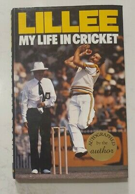AU59.92 • Buy Rare Dennis Lillee Signed In Person My Life In Cricket Auto Hard Cover Book
