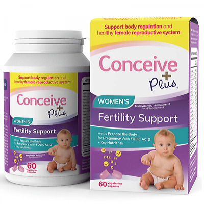 £19.95 • Buy Conceive Plus Women's Fertility Support - 60 Vegetarian Capsules