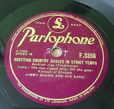 £3.80 • Buy Jimmy Shand And Band ' Scottish Country Dances' Vinyl VINTAGE 1958 VG