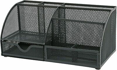 £13.95 • Buy Osco Mesh Desk Tidy Organiser In Choice Of Colours + Free Delivery