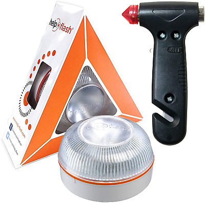£45.96 • Buy HELP FLASH - Authentic Emergency Light Danger And Flashlight, Approved, DGT, V16