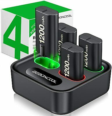 AU54.95 • Buy Charger For Xbox One Controller Battery Pack 4 X 1200mAh Rechargeable Xbox One