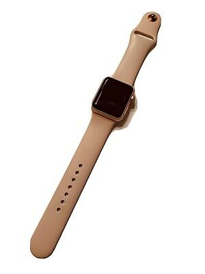$ CDN44.06 • Buy Apple Watch 38mm Rose Gold Pink Band Series 1 ( Not Working )