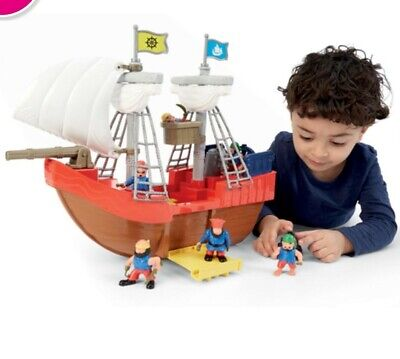 £19.99 • Buy ELC Pirate Ship And 6 Figures