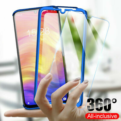 AU10.98 • Buy For OPPO AX5S A52 A53 AX5 Full Protector Case PC+Glass Screen Protector Cover