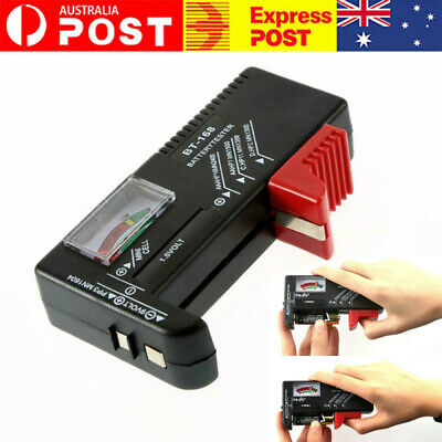 AU9.99 • Buy Universal Button Cell Battery Power Volt Tester Checker For AA/AAA/C/D/9V BR