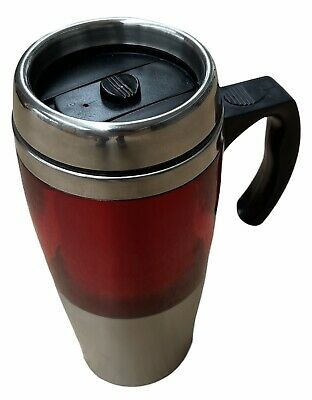 AU12 • Buy Velo Mug Travel Cup Stainless Steel Insulated Coffee Thermal Bottle - Red