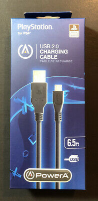 AU18.99 • Buy Official PS4 Controller Charging Cable 6.5ft USB 2.0 NEW
