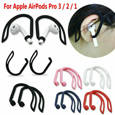 AU11.07 • Buy 2* Silicone Ear Hook Earloop Clip For  AirPods Pro 3 2 1 Bluetooth Headset