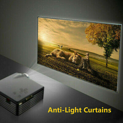 £21.64 • Buy 4K HD 60 -100  Projection Screen Anti-Light Projector Screen Material Curtains