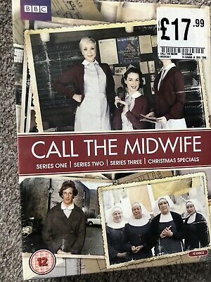 Call The Midwife Dvd Box Set • 8.99£