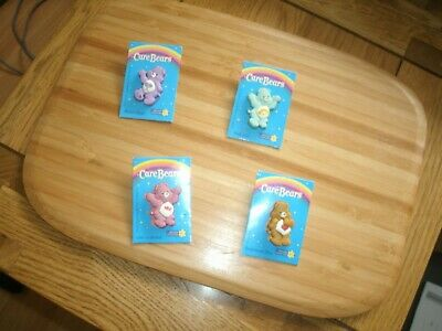 £15 • Buy  Vintage Care Bear X4 Marie Curie Cancer Care Charity Pin Badges