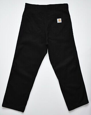 £42.90 • Buy Carhartt Simple Pant Crafted With Pride Carpenter Jeans B40BLK Black Men's 34
