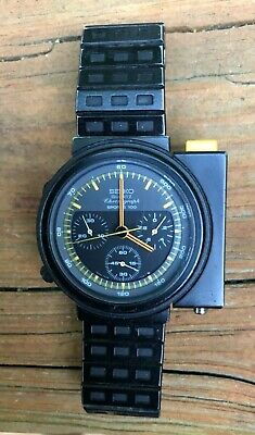 $ CDN785.97 • Buy Vintage Original Seiko Giugiaro Aliens Ripley Chronograph 7A28-7009 Watch