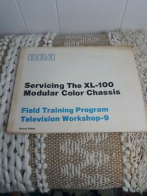 $6 • Buy RCA Servicing The XL-100 Modular Color Chassis Field Training Program Workshop 9