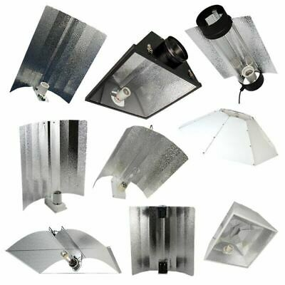 £14.50 • Buy Hydroponics Reflectors Euro Wing Cool Air Cooled Parabolic Adjustable CFL 315W