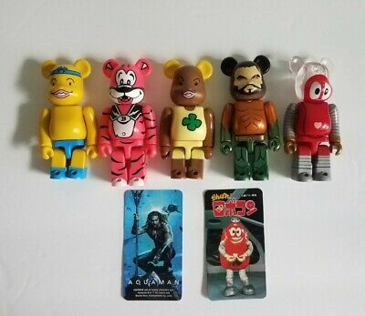 $29.99 • Buy Bearbrick Assorted Collectible Figure Lot Of 5 Be@rbrick
