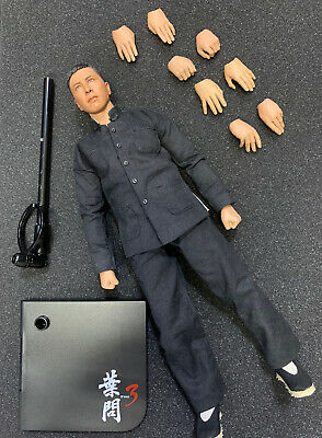 $199.90 • Buy ENTERBAY REAL MASTERPIEC 葉問 IP MAN 3 DONNIE YEN WING CHUN 1/6 Figure W/ Stand