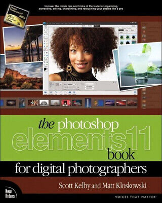£24.97 • Buy The Photoshop Elements 11 Book For Digital Photographers By Kelby, Scott