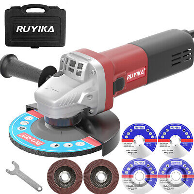 £31.99 • Buy Heavy Duty 700W 115mm 4.5  Electric Angle Grinder Polisher Cutting Sanding Disc