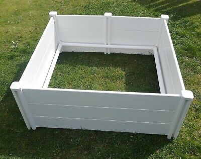 Premium White Plastic PVC Flat Packed Whelping Box Dog Puppy Litter Bedding  • 259.99£