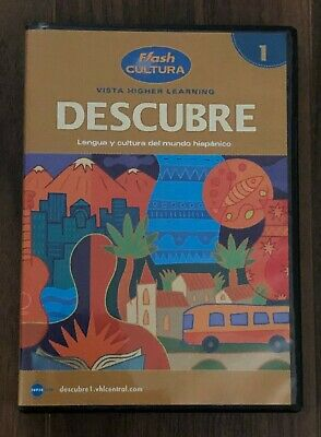 £7.06 • Buy DESCUBRE 1 Spanish Flash Cultura DVD Vista Higher Learning Homeschool Language