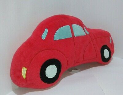 £11.99 • Buy Red Car Shaped Pillow Plush Soft Toy Vehicle Figure Cushion Kids Bedroom Doll