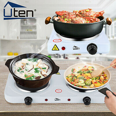 £13.99 • Buy UTEN Hot Plate Hob 1/2KW Electric Portable Table Top Cooker Kitchen Burner Stove