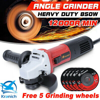 £31.99 • Buy Angle Grinder 5'' Electric 12000r/min Sander 850W 125mm Flat Cutting Grinding