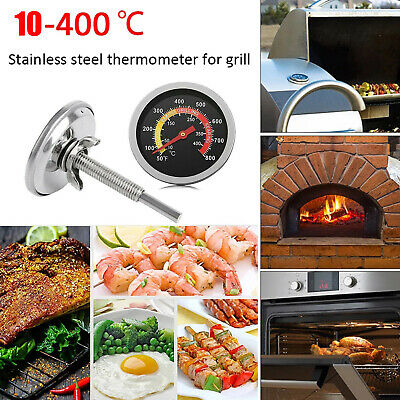 £7.68 • Buy Stainless Steel Oven Cooker Thermometer Temperature Gauge For Pizza Oven BBQ NEW