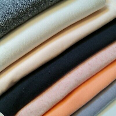 £1.99 • Buy Viscose Jersey Fabric 4Way Stretch Polyester Elastane Blend Dress Material 58 WQ
