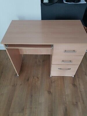 £60 • Buy Selling A Second Hand Home Desk Workstation 3 Drawers