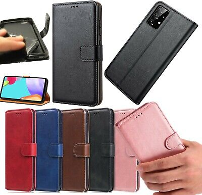 £4.25 • Buy For Samsung Galaxy A32 5G Case Leather Flip Magnetic Gel Wallet Book Phone Cover