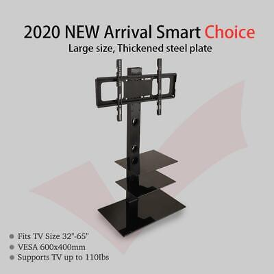£48.51 • Buy LEADZM Height Adjustable TV Stand Lift Mount Bracket For 32 - 65   TV Cabinet