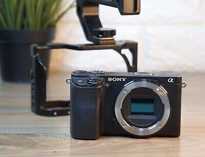 AU753.04 • Buy Sony A6300 Camera Black Body Only With Cage