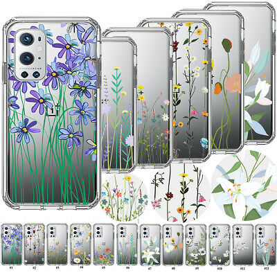 AU7.30 • Buy Crystal Soft TPU Flower Case Clear Silicone Cover For OnePlus 5 6 7 8 9 Pro Nord
