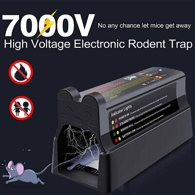 £26.99 • Buy Electronic Mouse Trap Victor Control Rat Killer Pest Electric Rodent Zapper UK