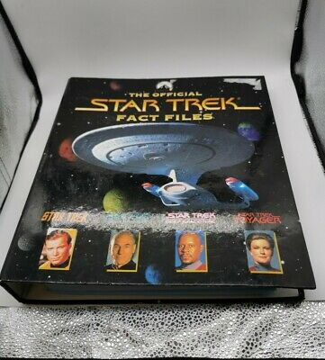 £18 • Buy Star Trek Fact Files - Issues 19-32 With Binder