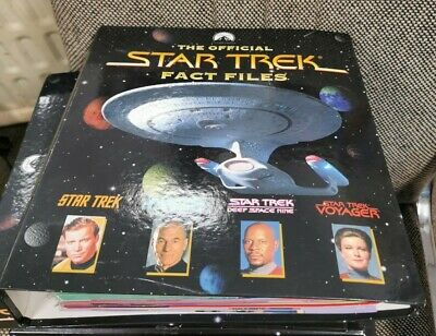 £18 • Buy Star Trek Fact Files - Issues 43-58 With Binder